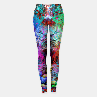 Thumbnail image of An Early Visit From The Frost Fairy (autumn, fall, winter, psychedelic, fantasy, visionary) Leggings, Live Heroes