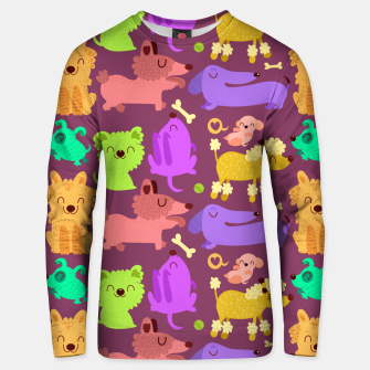 Miniatur Colorful dogs Cotton sweater, Live Heroes