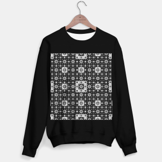 Miniature de image de OP ART - Black And White Optical Illusion Cube Toy - 03 Sweater regular, Live Heroes