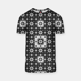 OP ART - Black And White Optical Illusion Cube Toy - 03 T-shirt miniature