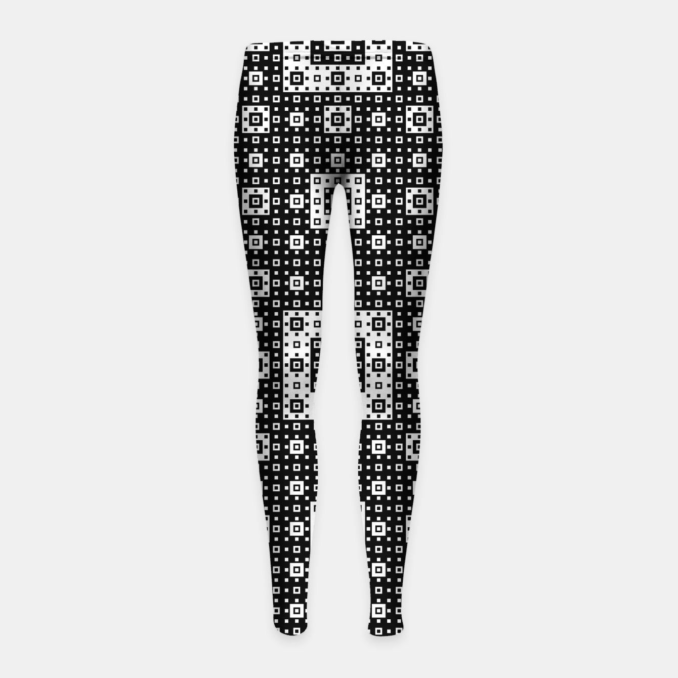 Image de OP ART - Black And White Optical Illusion Cube Toy - 03 Girl's leggings - Live Heroes