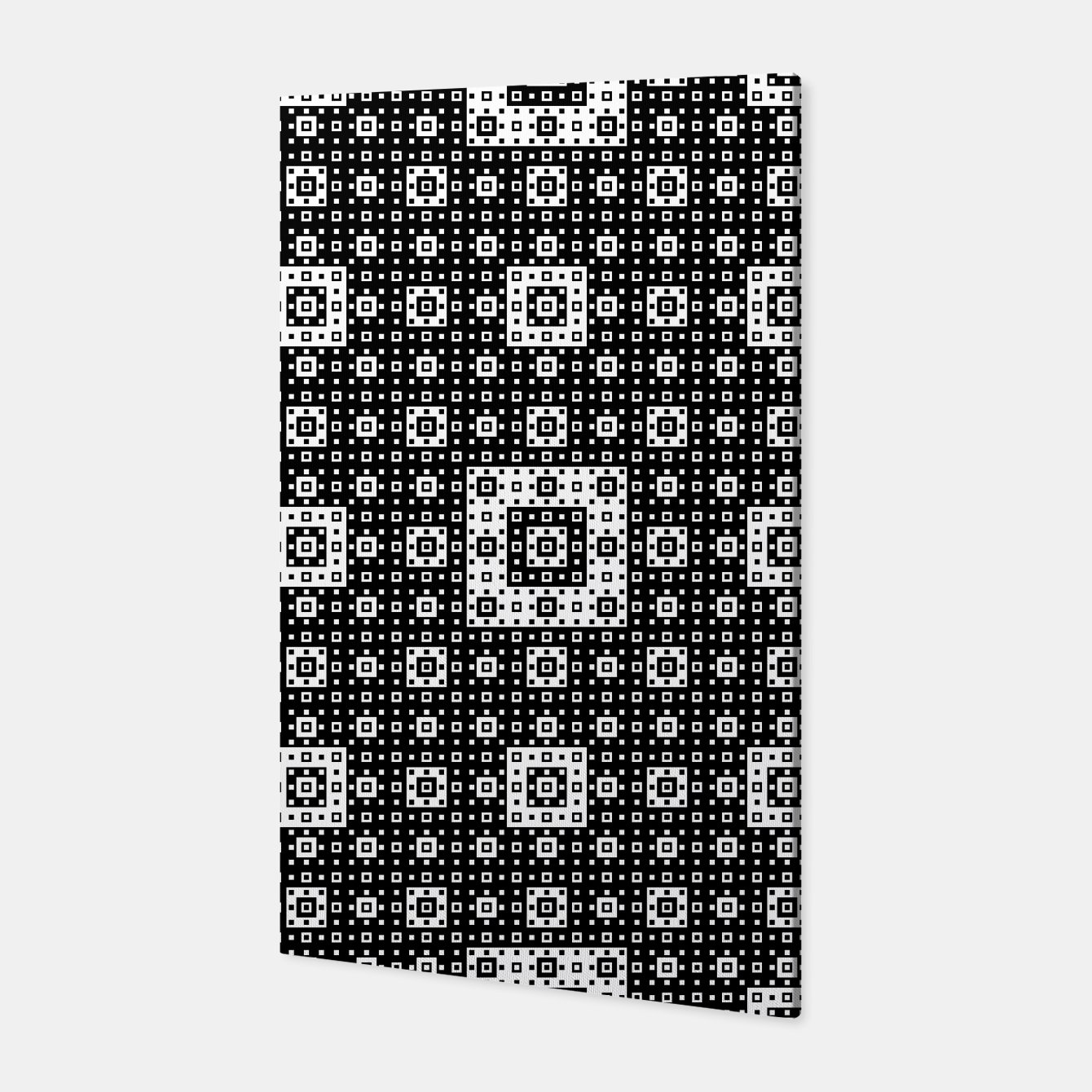 Image de OP ART - Black And White Optical Illusion Cube Toy - 03 Canvas - Live Heroes