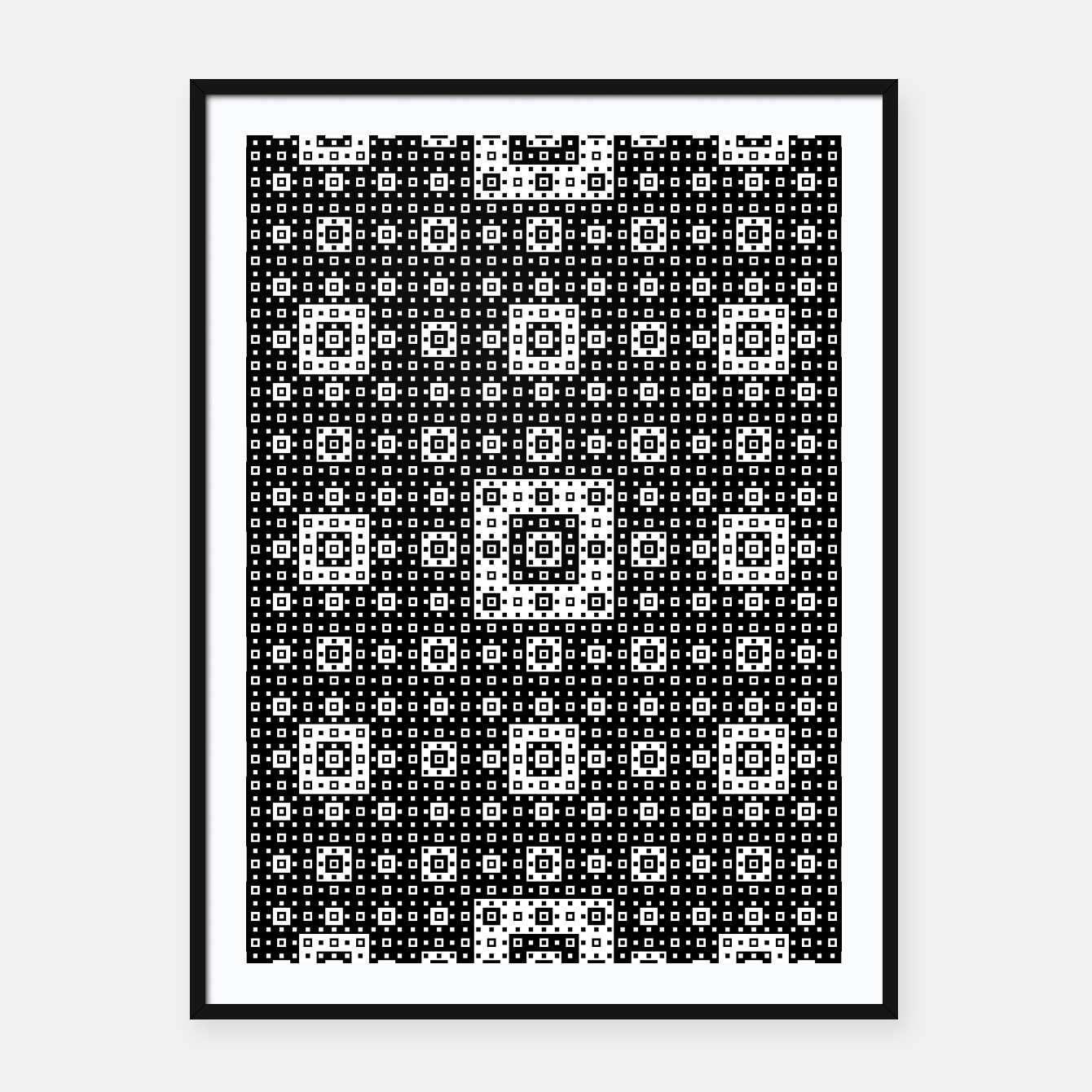Image de OP ART - Black And White Optical Illusion Cube Toy - 03 Framed poster - Live Heroes