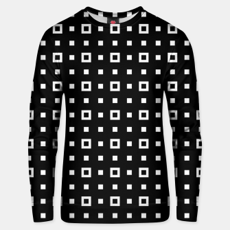 OP ART - Black And White Optical Illusion Cube Toy - 04 Cotton sweater miniature