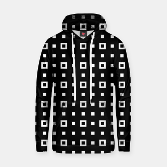 OP ART - Black And White Optical Illusion Cube Toy - 04 Cotton hoodie miniature
