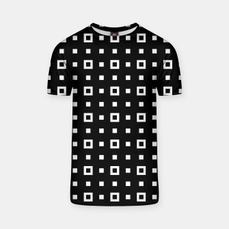 OP ART - Black And White Optical Illusion Cube Toy - 04 T-shirt miniature