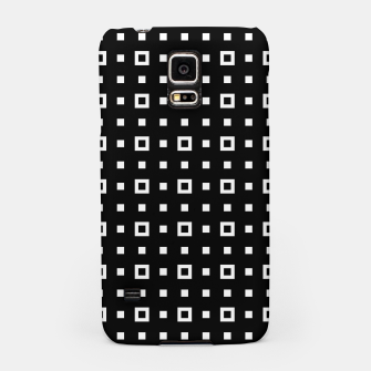 OP ART - Black And White Optical Illusion Cube Toy - 04 Samsung Case miniature