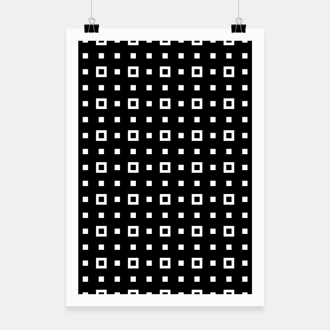 Image de OP ART - Black And White Optical Illusion Cube Toy - 04 Poster - Live Heroes