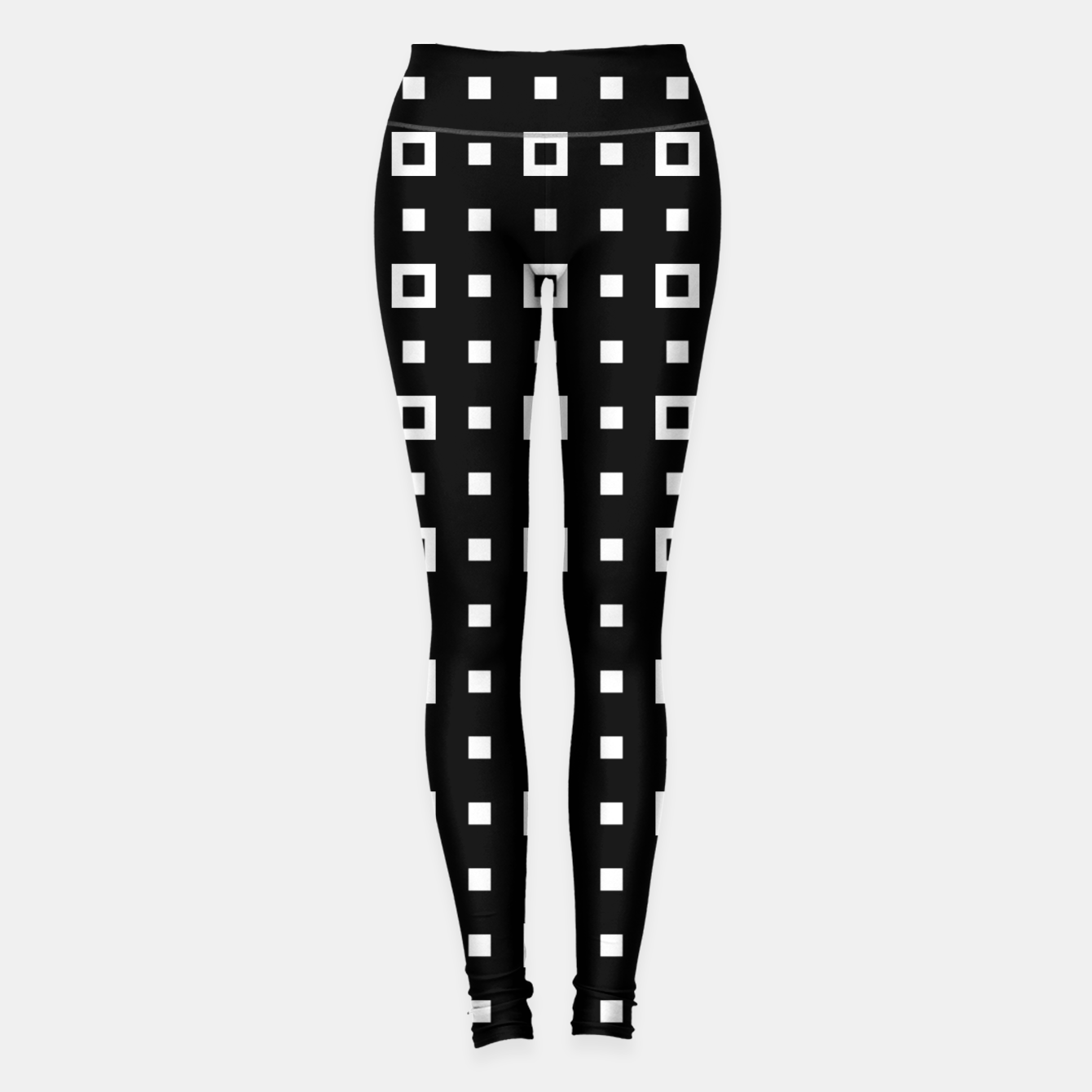Image de OP ART - Black And White Optical Illusion Cube Toy - 04 Leggings - Live Heroes