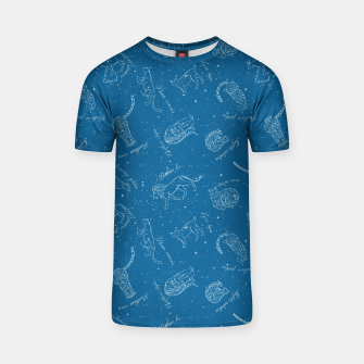 Thumbnail image of Big Cats Constellations (Light Blue Sky) T-shirt, Live Heroes