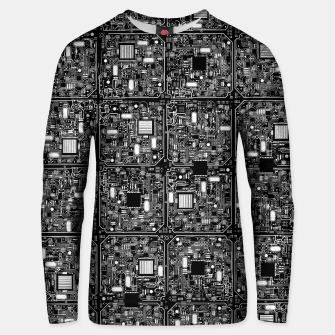Thumbnail image of Serious Circuitry Cotton sweater, Live Heroes