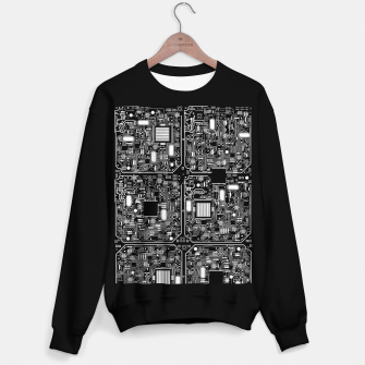 Thumbnail image of Serious Circuitry Sweater regular, Live Heroes