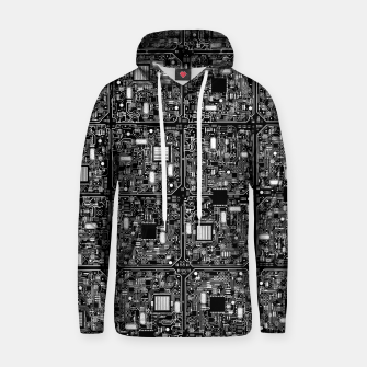 Thumbnail image of Serious Circuitry Cotton hoodie, Live Heroes