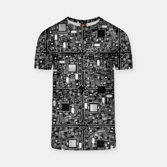 Thumbnail image of Serious Circuitry T-shirt, Live Heroes