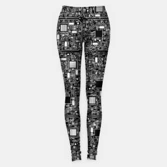 Thumbnail image of Serious Circuitry Leggings, Live Heroes