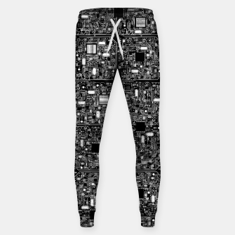 Thumbnail image of Serious Circuitry Cotton sweatpants, Live Heroes