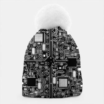 Thumbnail image of Serious Circuitry Beanie, Live Heroes