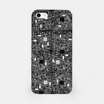 Thumbnail image of Serious Circuitry iPhone Case, Live Heroes
