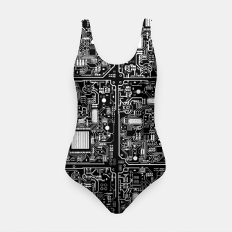 Thumbnail image of Serious Circuitry Swimsuit, Live Heroes