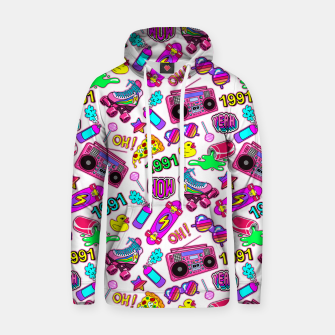 Back to the 80s! Cotton hoodie obraz miniatury