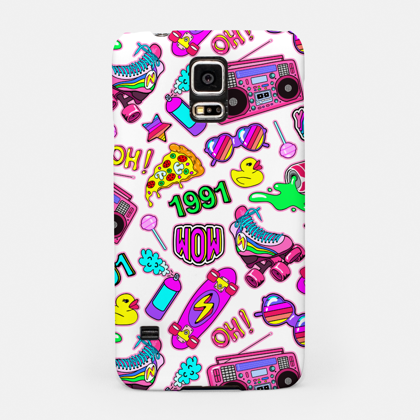 Foto Back to the 80s! Samsung Case - Live Heroes