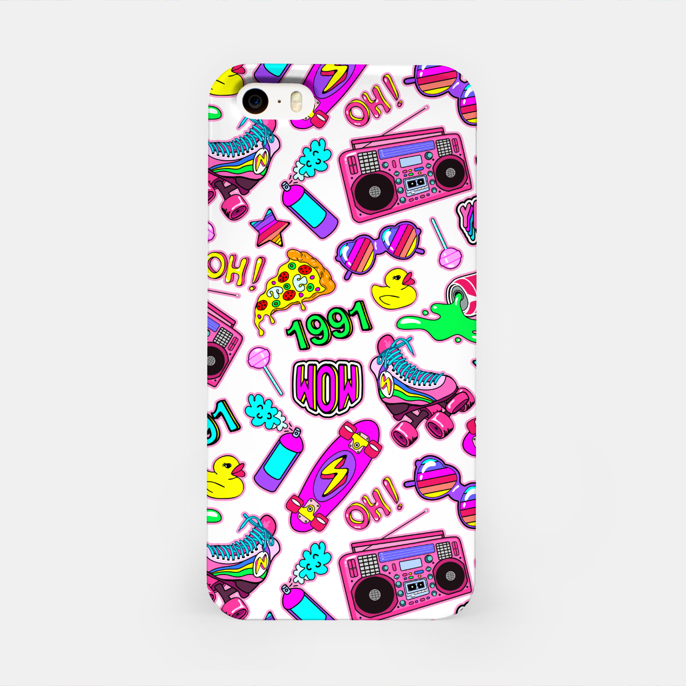 Foto Back to the 80s! iPhone Case - Live Heroes
