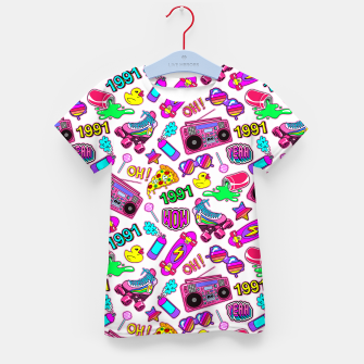 Back to the 80s! Kid's t-shirt obraz miniatury