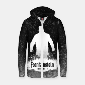 Thumbnail image of Frankenstein 1818-2018 - 200th Anniversary INV Cotton zip up hoodie, Live Heroes