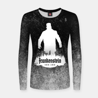 Thumbnail image of Frankenstein 1818-2018 - 200th Anniversary INV Woman cotton sweater, Live Heroes