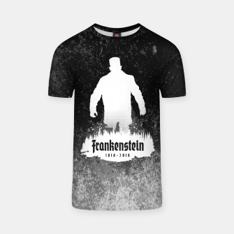 Thumbnail image of Frankenstein 1818-2018 - 200th Anniversary INV T-shirt, Live Heroes