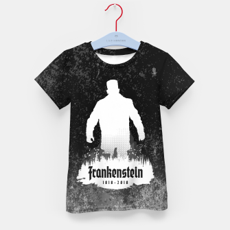 Thumbnail image of Frankenstein 1818-2018 - 200th Anniversary INV Kid's t-shirt, Live Heroes