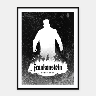 Thumbnail image of Frankenstein 1818-2018 - 200th Anniversary INV Framed poster, Live Heroes