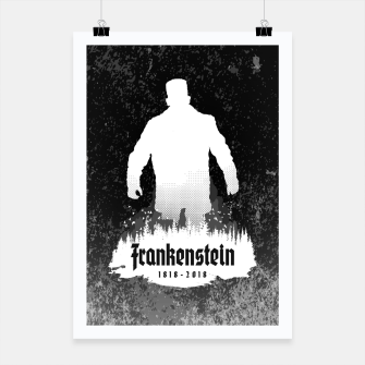 Thumbnail image of Frankenstein 1818-2018 - 200th Anniversary INV Poster, Live Heroes
