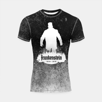 Thumbnail image of Frankenstein 1818-2018 - 200th Anniversary INV Shortsleeve rashguard, Live Heroes