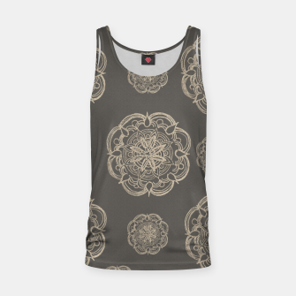 Gold Romantic Mandala Pattern #1 #decor #art Muskelshirt  thumbnail image