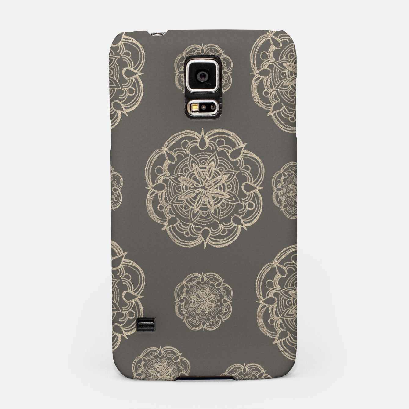 Image of Gold Romantic Mandala Pattern #1 #decor #art Handyhülle für Samsung - Live Heroes