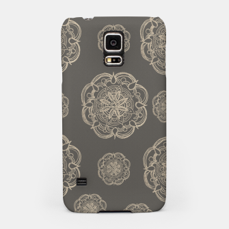 Gold Romantic Mandala Pattern #1 #decor #art Handyhülle für Samsung thumbnail image