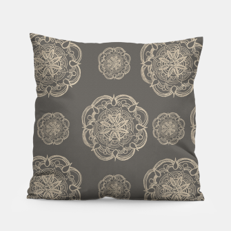 Gold Romantic Mandala Pattern #1 #decor #art Kissen thumbnail image
