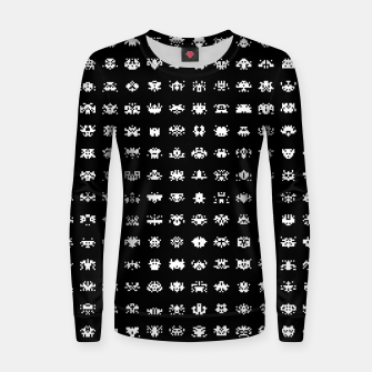 Thumbnail image of  Retro Gamer - Invaders From Space - 08 Woman cotton sweater, Live Heroes