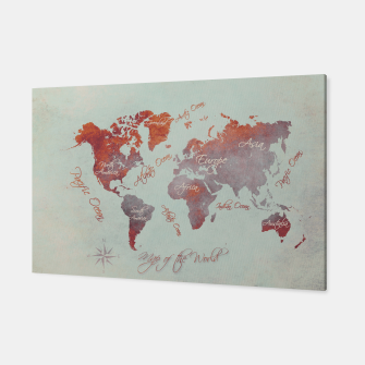 Thumbnail image of world map  Canvas, Live Heroes