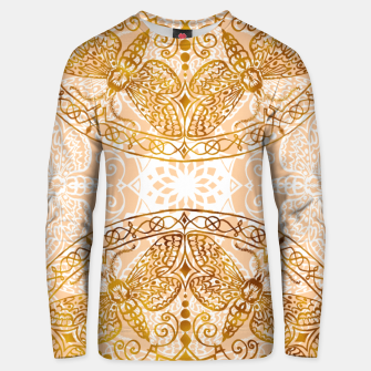 Miniatur Bees Golden Mandala and Peach Pink Cotton sweater, Live Heroes