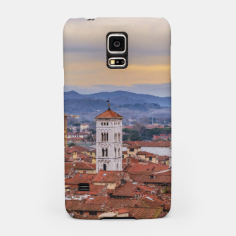 Thumbnail image of Aerial View Historic Center of Lucca, Italy Samsung Case, Live Heroes