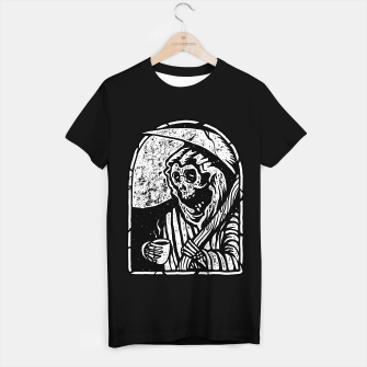 Death before decaf T-shirt regular Bild der Miniatur