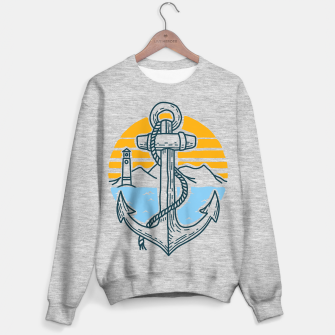 Miniatur Anchor Point Sweater regular, Live Heroes