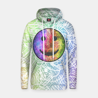 Thumbnail image of Smile! Cotton hoodie, Live Heroes