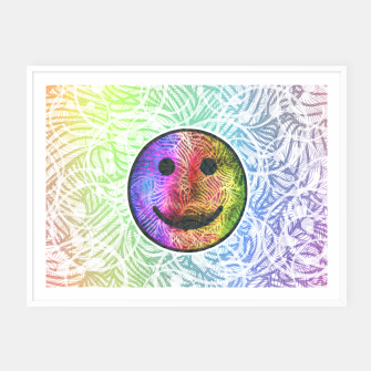 Thumbnail image of Smile! Framed poster, Live Heroes