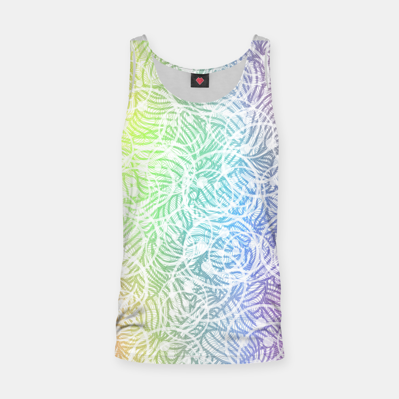 Image of smile2 Tank Top - Live Heroes