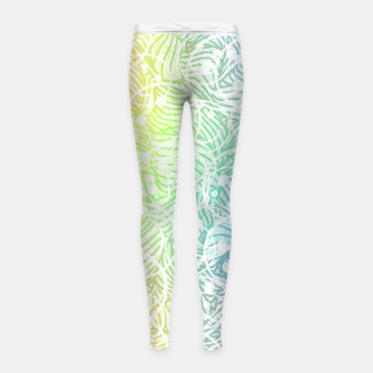 Thumbnail image of smile2 Girl's leggings, Live Heroes