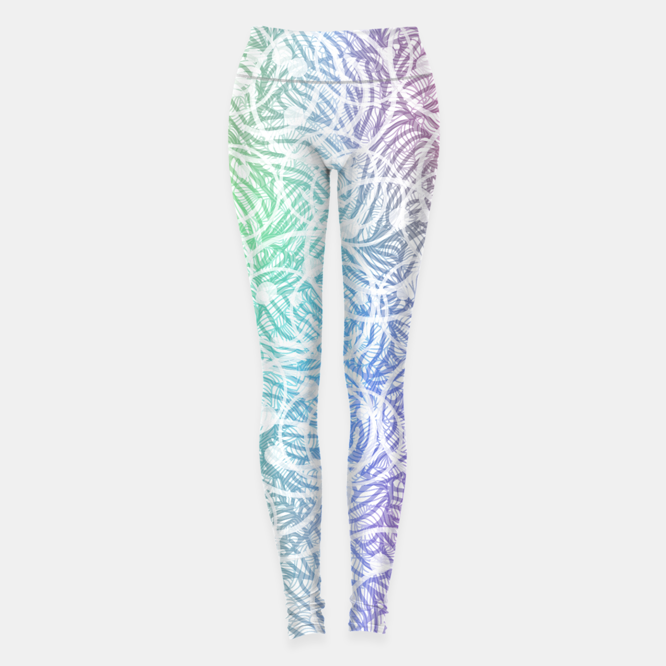 Image of smile2 Leggings - Live Heroes