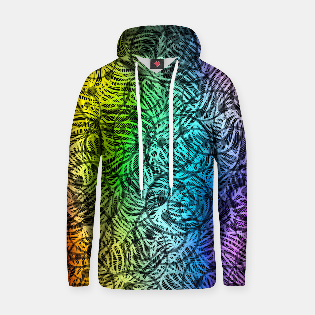 Image of smile3 Cotton hoodie - Live Heroes